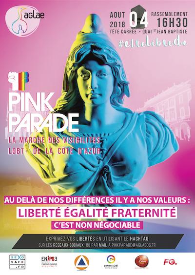 Pink Parade Nice 2018