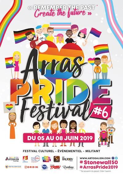 Affiche Arras Pride Festival 2019