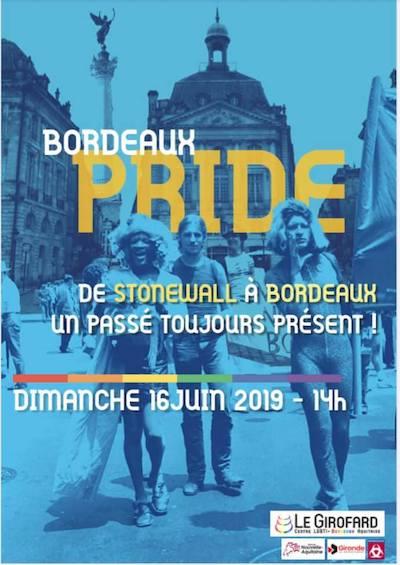 affiche Bordeaux Pride 2019