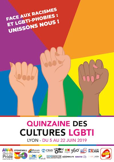 Quinzaine des Cultures LGBTI Lyon 2019