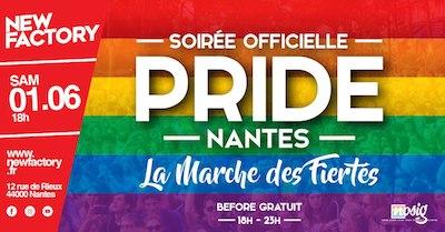 soirée de la Marche des Fiertés Nantes 2019