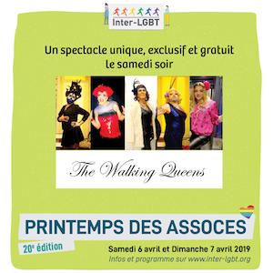 Walking Queens Printemps des Assoces 2019