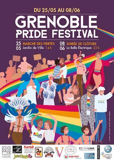 Gay Pride de Grenoble 2019