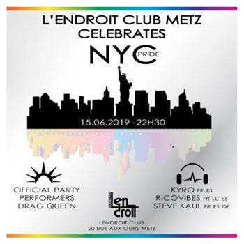 flyer soirée officielle Metz Pride Day 2019