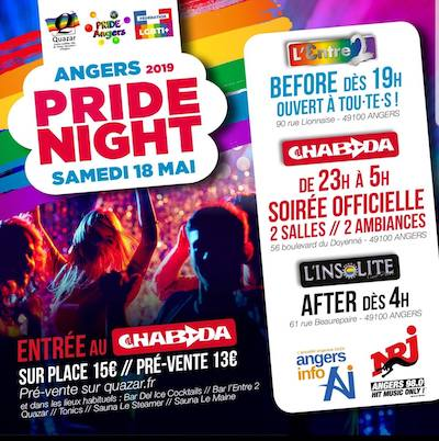 Pride Night 2019 Angers